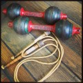 Antique Dumbbells and Skipping Rope