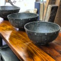 19th century French Grain Measure Bowls