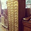 Oak 45 Drawer Cabinet