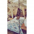 Antique Iron Canopy Bed