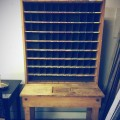 Vintage Maple Mail Sorting Cabinet (Image 1/2)