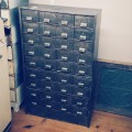Old 2 Piece Industrial Cabinet (Image 1/2)