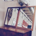 2 Old Mirrors in Wood Frames