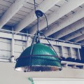 Industrial Mercury Glass Hanging Light