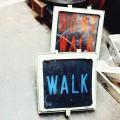 Old Don't Walk / Walk Signs