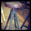 Antique Conductor's Stool-from Vancouver