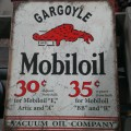 Old Mobiloil Sign