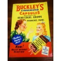 Buckley's Cinnamated Capsules