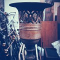 Old Torchiere Lamp