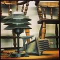 Steampunk Lamp & Old Porch Light