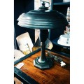 1930's Table Lamp - Alzak Reflector