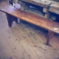 Rustic Reclaimed Fir Bench - Our own design